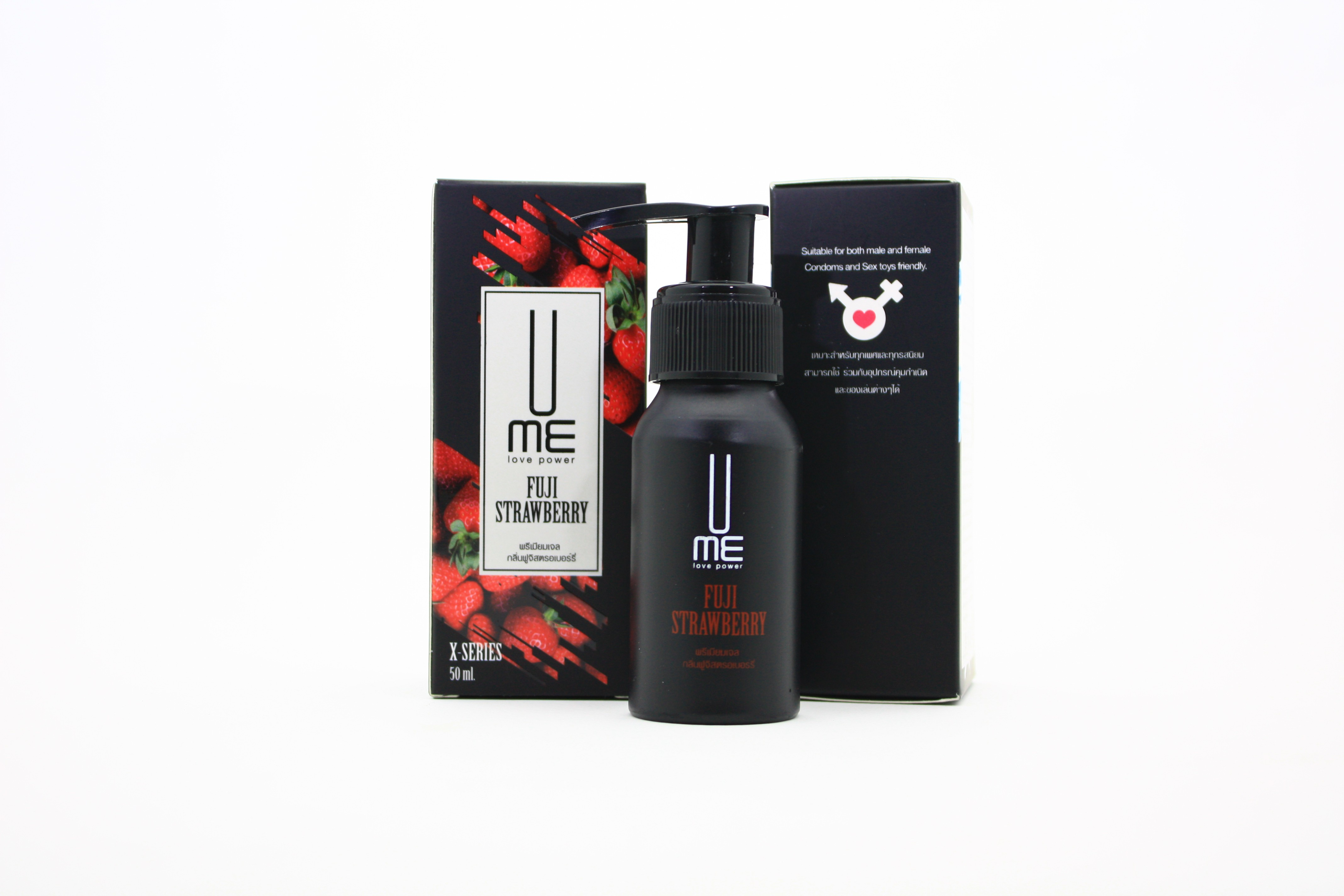 UME Love Power Gel X-Series Fuji Strawberry-50ml